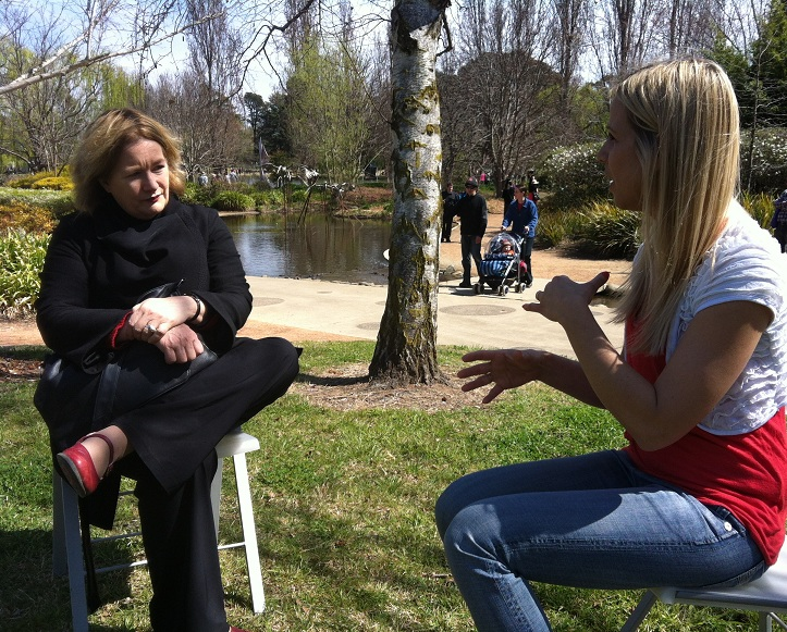 interviewing Jackie French
