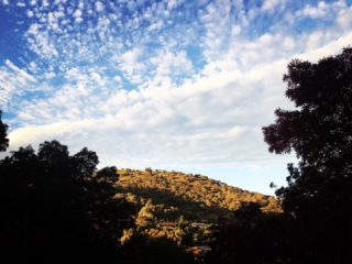 Morning!  #myview #balconyview #morning #landscape #canberra #canberralife #cloudscape