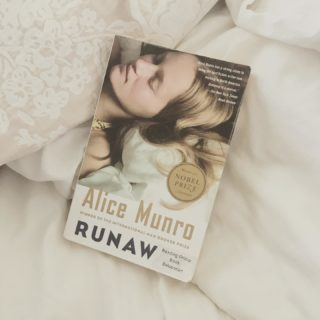 Post book tour my body has finally crashed. So annoyed that I am spending this glorious sunshiny day resting inside. But at least there is Alice Munro to dip into.  #alicemunro #runaway #bookstagram #currentlyreading #reading #shortstories #shortfiction #booklove #booklover #bookstagram #booknerd #bookaddict