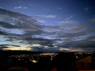 Twilight walk.  #lockdownwalk #walk #walking #dailywalk #canberra #canberralife #twilight #skyscape #landscape