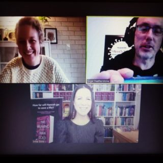 Doing events via Zoom has brightened my lockdown immeasurably and been a great distraction. I blogged about all the fun bits! (Link in bio.) Massive thanks to all the organisers x  @scbwiact @scbwianz @actwriters @ngfeathers @mb_randi @coreytutt_deadlyscience @ekbooksforkids @midnightsunpublishing @deadlyscience_org #literature #literaryevents #thebreaking #elephants #thailand #bookstagram #writinglife #writerslife #writersofinstagram #authorlife #authorsofinstagram #editing #editinglife #brazil #riodejaneiro #wheretheheartis