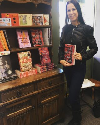 Dropped by the glorious Book Passion to sign copies of The Breaking. If you haven't been there before you really need to pay a visit. It's such a cosy space with so many personal touches. Makes me want to buy a book and curl up in bed with it immediately. And so great to chat with gorgeous bookseller Leisha! Plus look at the fabulous company I'm in here with so many of my fave authors. I'm looking at you @nikki.gemmell @emilymaguirewriter @laurajeanmckay @drclaireet   #TheBreaking #writinglife #writerslife #authorlife #authorslife #authorsofinstagram #writersofinstagram #elephants #elephantlove #elephantlover #thailand #travel #travelling #wanderlust #booksellers #bookselling @bookpassionbelconnen @midnightsunpublishing