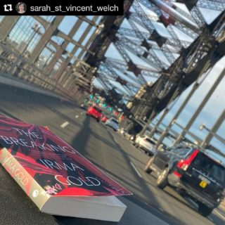I'm on the Harbour Bridge!  . . . #Repost @sarah_st_vincent_welch  ・・・ Love this book to pieces. Irma Gold's 'The Breaking.'  #elephants #fiction #TheBreaking #writinglife #writerslife #authorlife #authorslife #authorsofinstagram #writersofinstagram #elephantlove #elephantlover #thailand #travel #travelling #wanderlust @midnightsunpublishing