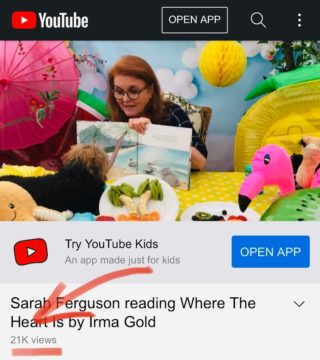 Already over 20k views after just one day! So surreal! Thank you @sarahferguson15 and @storytimewithfergieandfriends for sharing our story 💙  #wheretheheartis @oh.susannah.illustration @ekbooksforkids #picturebook #picturebooks #picturebookillustration #picturebooksofinstagram #picturebooksaremyjam #kidsbooks #kidsofinstagram #reading #kidsbooksofinstagram #penguin #penguins #riodejaneiro #brazil #royalty #royalreading