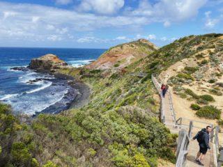 Epic walk from Cape Schanck to Bushrangers Bay today. So stunning.