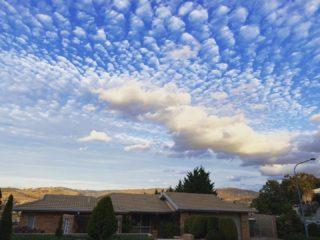 Canberra wins at good cloud game again.  #lockdownwalk #spring #canberra #canberralife #cloudscape #walk #dailywalk