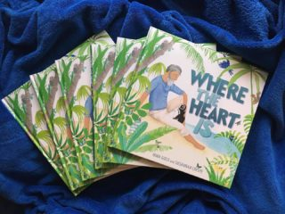 My second book birthday this year! Susannah Crispe's illos are perfect and she has created the most adorable and funniest endpapers ever (swipe right to see them). Hope you enjoy reading Where the Heart Is with your kidlets as much as we enjoyed making it. Available now in Australia, NZ, UK, US and Canada 💙  #wheretheheartis @oh.susannah.illustration @ekbooksforkids #picturebook #picturebooks #picturebookillustration #picturebooksofinstagram #picturebooksaremyjam #kidsbooks #kidsofinstagram #reading #kidsbooksofinstagram #penguin #penguins #riodejaneiro #brazil