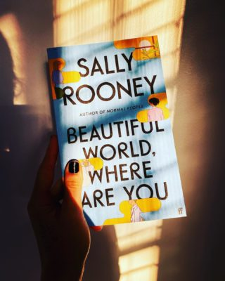 The title of Rooney's latest could be an anthem for our times. Thanks to @paperchainbookstore for all the clicking and collecting. Can't wait to dive in to this one.  @sallyrooneyofficial #beautifulworldwhereareyou #bookstagram #booklove #booklover #lockdownreading #reading #womenwritersofinstagram