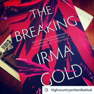 So delighted that The Breaking is kicking off the High Country Writers Festival's annual book club. It's been the toughest of years for debut novelists with so many lockdown bookshop closures, so it's lovely to see The Breaking still finding its way into readers' hands. And if you're buying a book to keep you company in lockdown consider opting for one of the many incredible debuts released during the pandemic, instead of one of the big names.  . Posted @withregram • @highcountrywritersfestival Our fourth annual @highcountrywritersfestival reading list begins with this debut novel by @irma.gold ... THE BREAKING published by @midnightsunpublishing ... I've only just started my journey into this exploration of the Thai elephant tourism industry, and I'm gripped. It's a great study of immediacy in the opening of a 21st Century novel! The High Country Book Club will be discussing this title at @makersshedgleninnes on Saturday October 16, 10am-12pm. Grab your copy at 123 Grey Street, Wednesdays to Saturdays, 10-4, and join us as we embark on another 12-month reading odyssey. This year's @highcountrywritersfestival has been rescheduled from October to Saturday December 11. Mark your diaries and join us at The Makers Shed for the announcement of the 2021 High Country Indie Book Award from our November 2020 to September 2021 reads! ##TheBreaking #writinglife #writerslife #authorlife #authorslife #authorsofinstagram #writersofinstagram #elephants #elephantlove #elephantlover #thailand #travel #travelling #wanderlust #irmagold #gleninneshighlands #gleninnes #highcountrywritersfestival #debutnovel @midnightsunpublishing