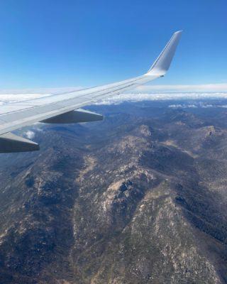 Scenes from a plane window.   #flying